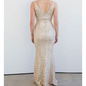 "NEW Dress the Population ""Harper"" sequin gown!!"